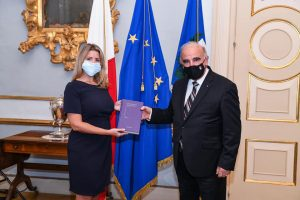 The Life Sciences Law Review presented to the President of Malta